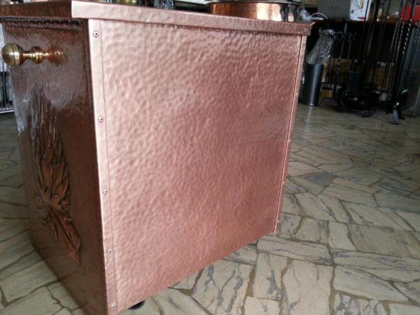 Cassetto esterno legna